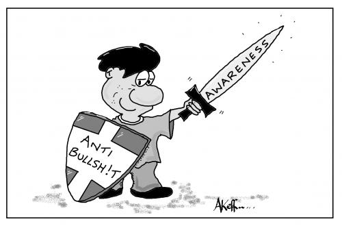 Joke Cartoon - OUT BS!